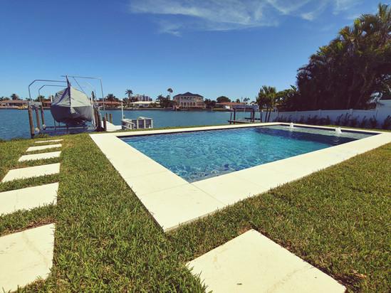 Waterfront Inground Pool