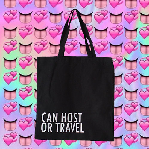 CAN HOST OR TRAVEL