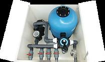 Sistema de filtrado de piscinas