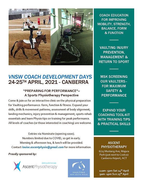 VNSW COACH development days FLYER (002).