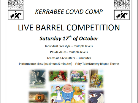 KERRABEE COVID COMP - Enter NOW