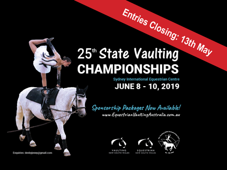 25th NSW Vaulting Championships - Silver Jubilee