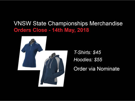 VNSW State Championships Merchandise