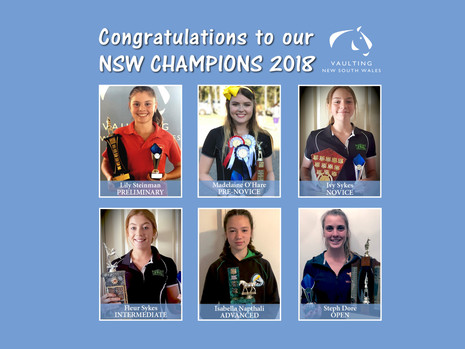 VNSW - Champions for 2018