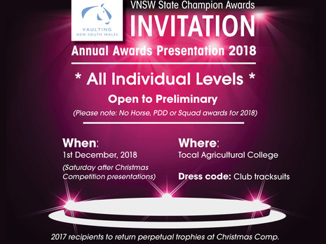 VNSW Annual Awards