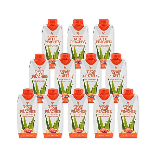 330ml Forever Aloe Peaches