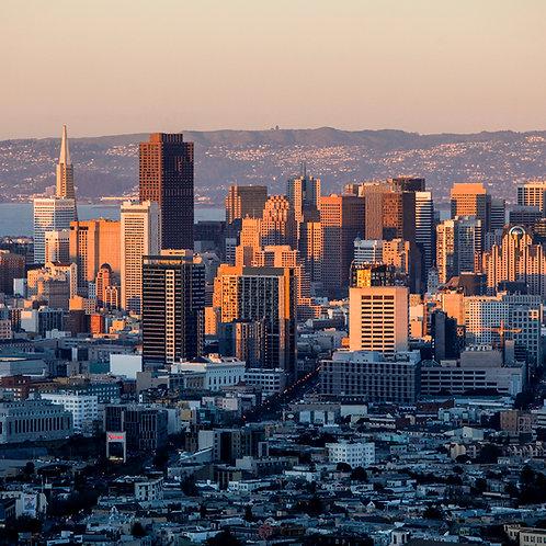 Sun over San Francisco, 2015