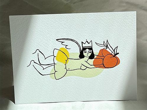 Fruit Fairy Post Card