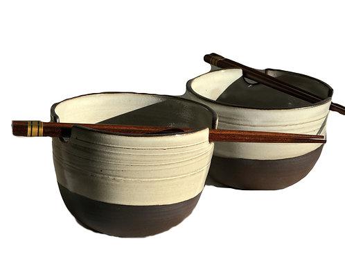 Rice Bowl with Chopsticks