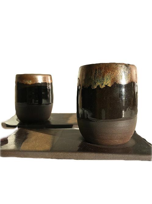 Espresso Set (cup & tray)