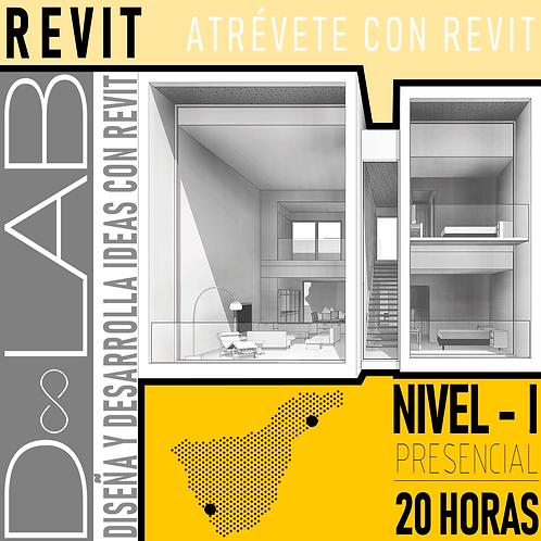 REVIT NIVEL 1 - 50 HORAS - PRESENCIAL