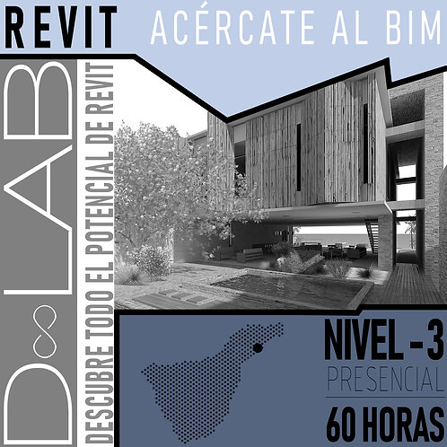 REVIT NIVEL 3 - 60 HORAS - PRESENCIAL