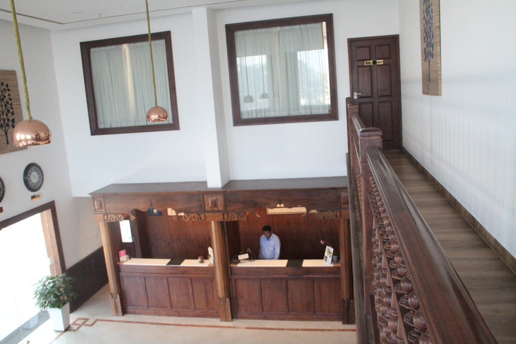 Reception Lobby View