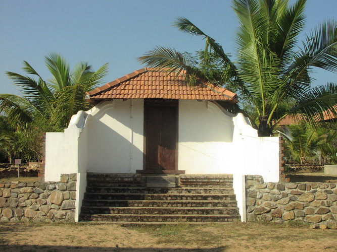 Entrance to the Kerala House