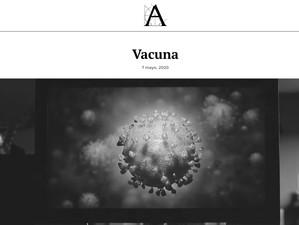 """""""VACUNA"""" se promociona en la web de la Academia de Cine...!"""