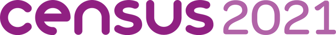 Census 2021 Web Logo Purple Landscape RG