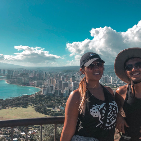 Hiking Lēʻahi: Diamond Head Crater Hike