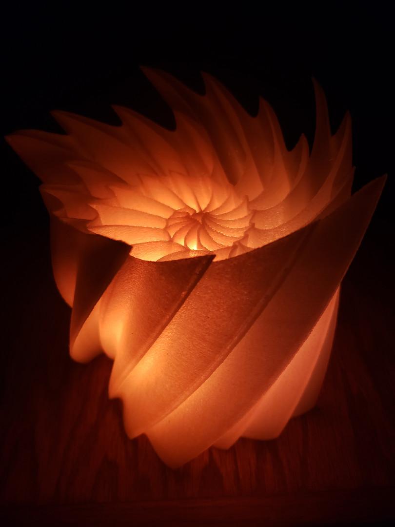 3D Printed Lamp