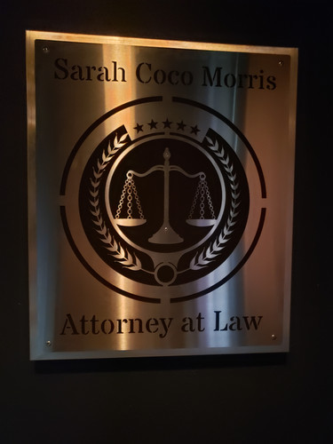 Attorney at Law Wall Hanger 1