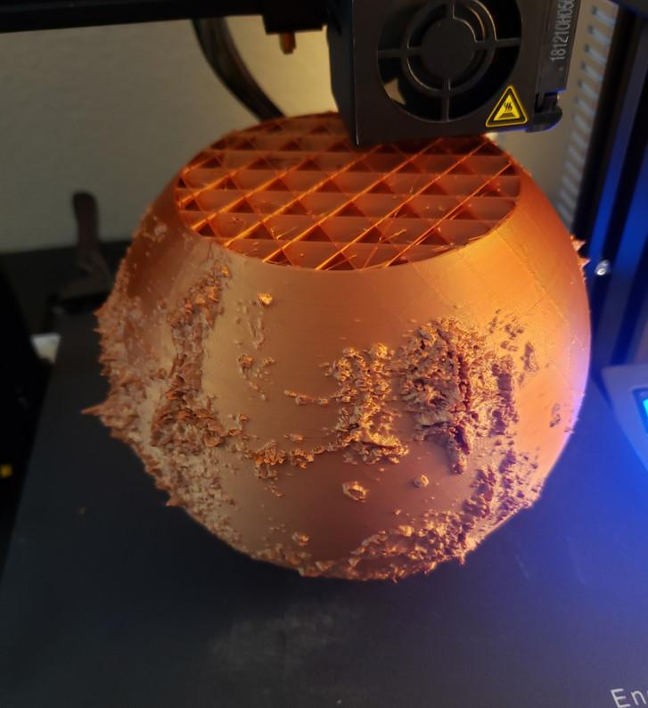 3D Printing Model of Planet Venus