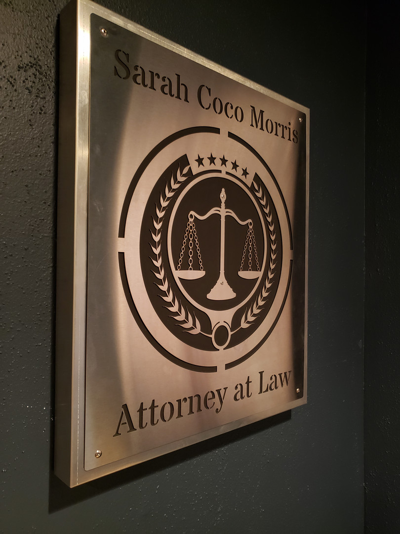 Attorney at Law Wall Hanger 2