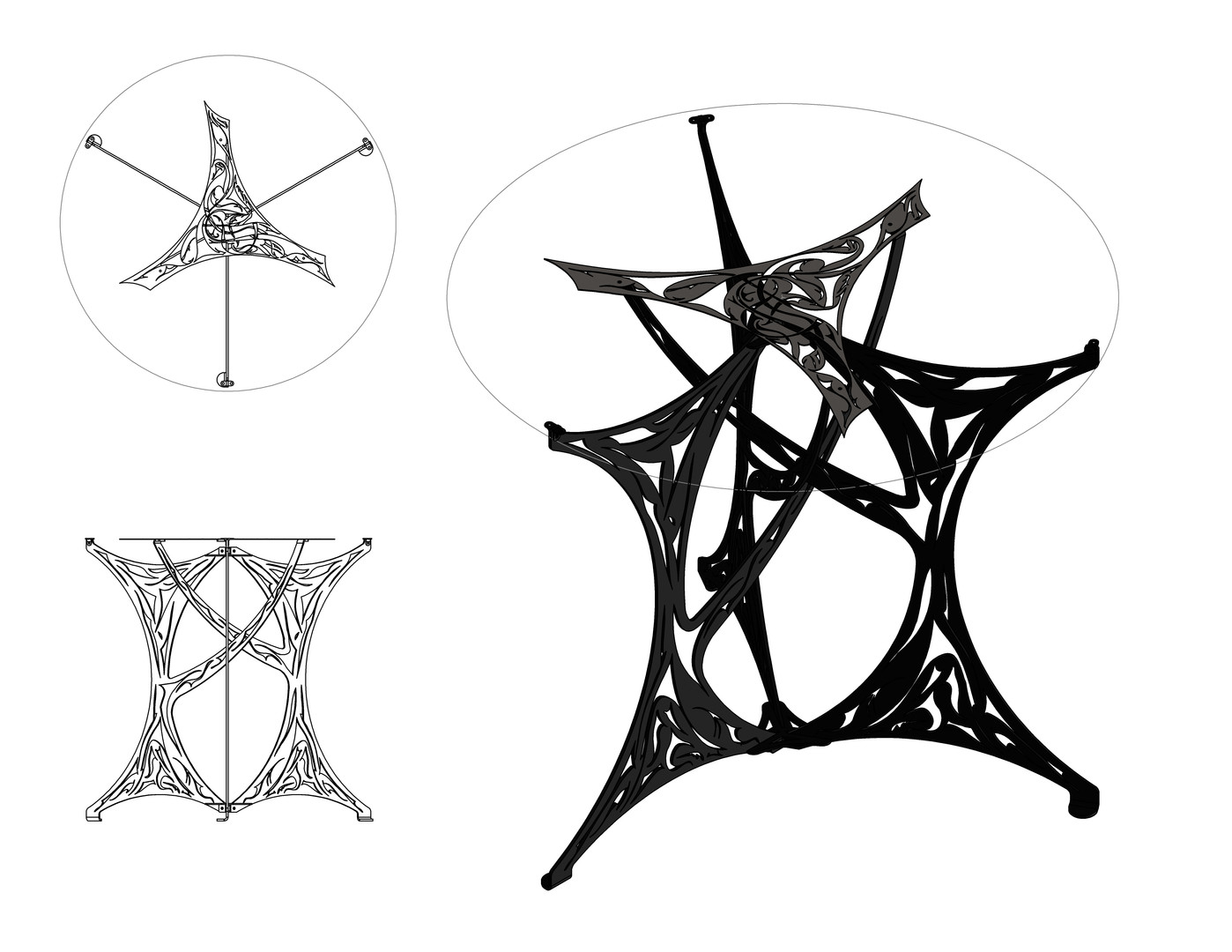 Intricate Table Model