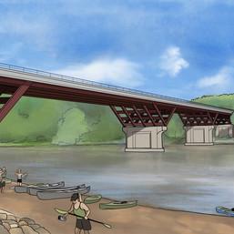 Bridge Architecture Rendering