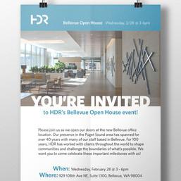 HDR Bellevue Open House