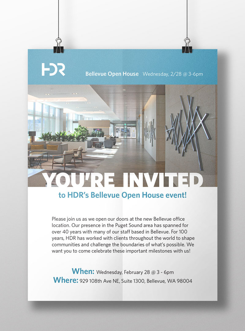 HDR Bellevue Open House