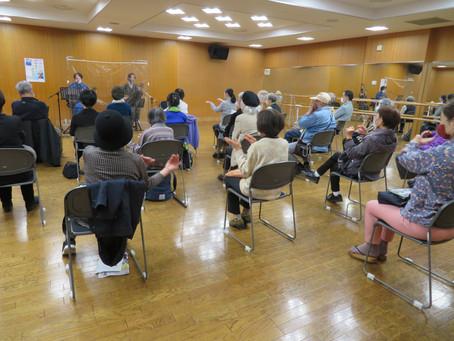 2021年3月24日(水)白金高輪図書館 沖縄民謡と三線の調べ