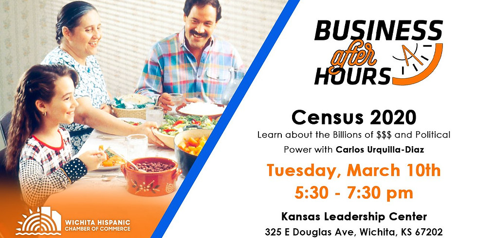 Census 2020 Business After Hours