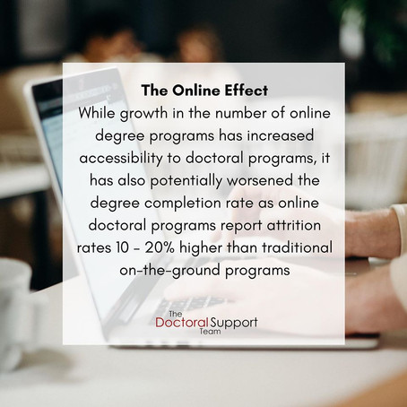 Being Prepared for the Differences Between Online and On-the-Ground Doctoral Programs
