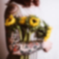 TATTOO%20WOMAN%20HOLDING%20SUNFLOWERS%20