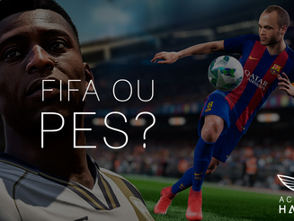 PES 2018 OU FIFA 18?