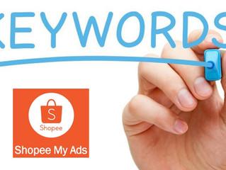 Shopee Ads. Maximizing Keywords with Cost like a Newbie.