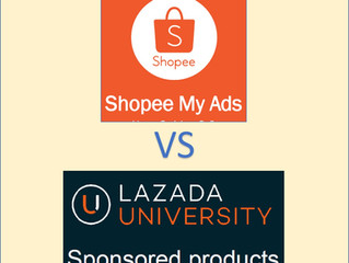 Shopee Ads vs Lazada Sponsor Product & Shopee Ads Strategy with Real Example.