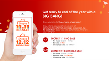 Shocking Shopee Conference, Shocking Sale, Shocking Revelation.