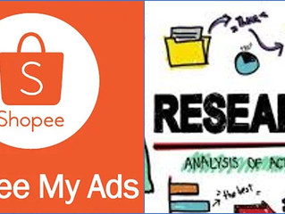 Shopee Ads. Sharing of a FOUR MONTH Research