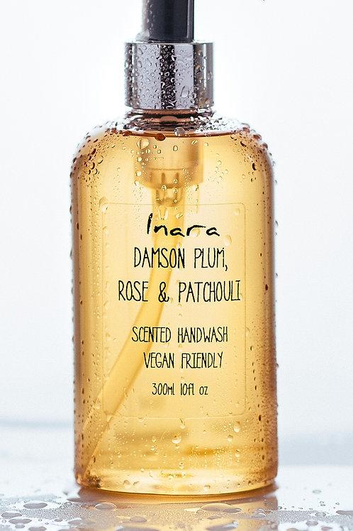 Damson Plum & Patchouli - scented handwash