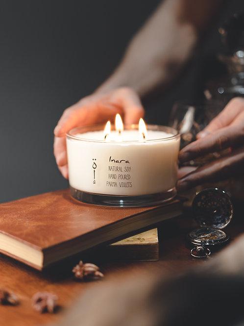 Parma Violets - 3 wick candle