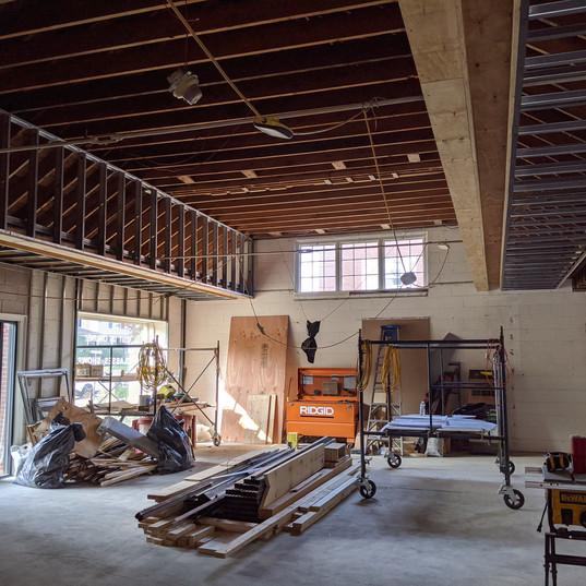 Gallery framing looking north.jpg