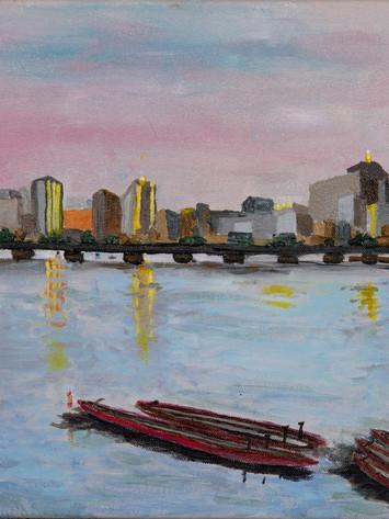 Cambridge View of Boston
