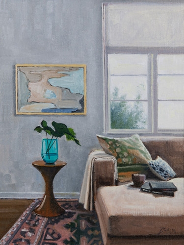 Interior with Abstract