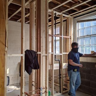 kitchen framing and Andrew.jpg