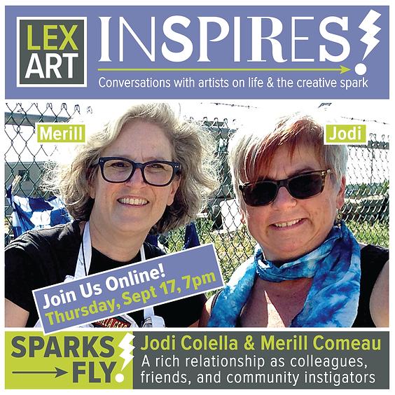 LexArt Inspires! with Jodi Colella & Merill Comeau