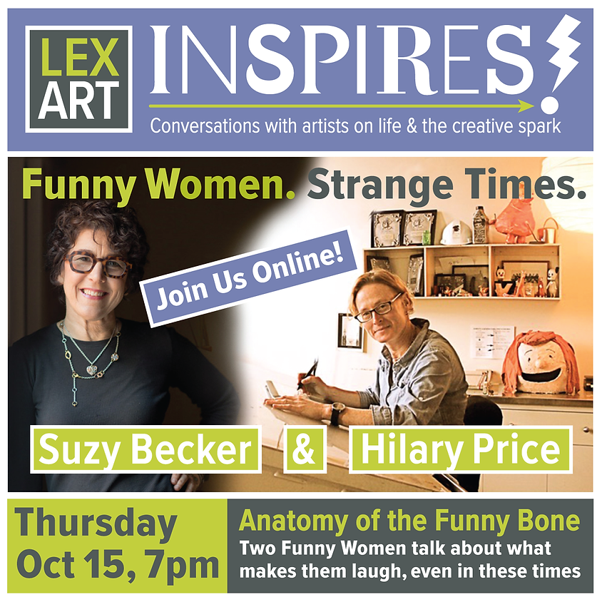 LexArt Inspires! with Suzy Becker & Hilary Price