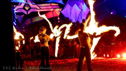 Astral Harvest Fire Show 2013