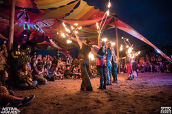 Astral Harvest Fire Show 2015