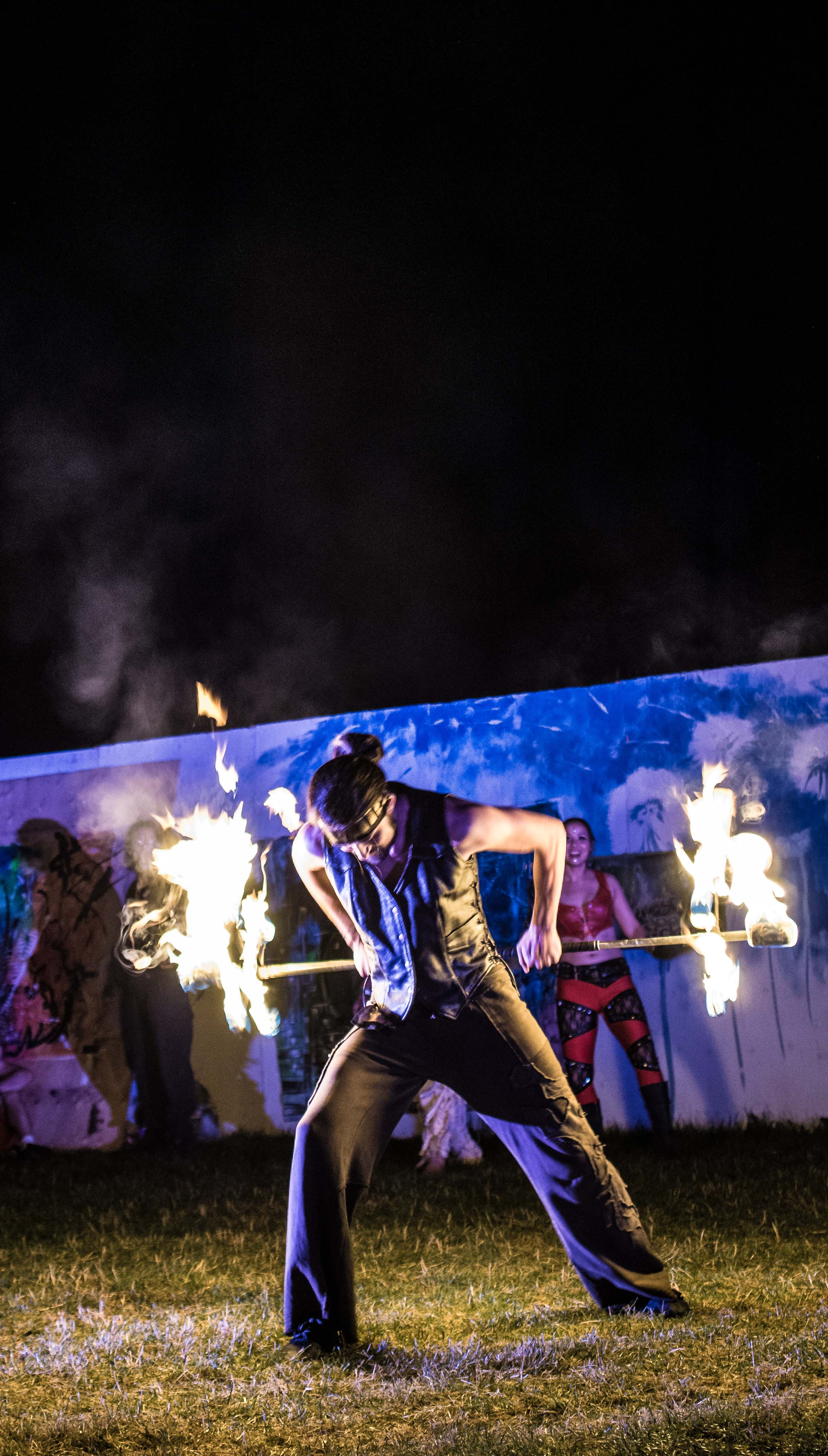 Astral Harvest Fire Show 2014