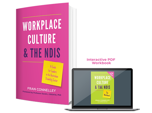 Workplace Culture & The NDIS and Workbook Package